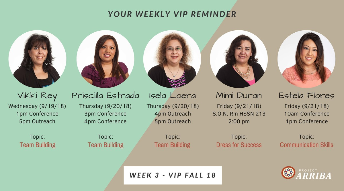 Fall 18 vip week 3