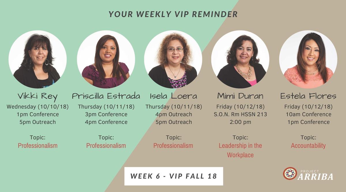 Fall 18 vip week 6