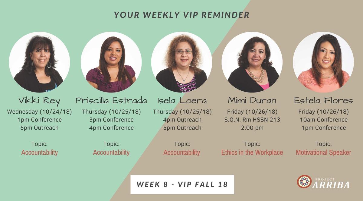 Fall 18 vip week 8